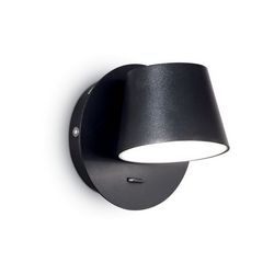 Lampada da parete Applique Ideal Lux Gim AP1 NERO 167121