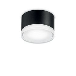 Plafoniera Ideal Lux Urano PL1 SMALL NERO 169170