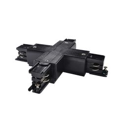 Link Trimless X-connector Black Ideal Lux 169903