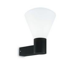 Lampada da parete Applique Ideal Lux Ouverture AP1 NERO 173498