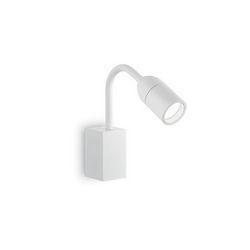 Lampada da parete Applique Ideal Lux Loop AP1 BIANCO 179094