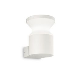 Lampada da parete Applique Ideal Lux Torre AP1 BIANCO 186924