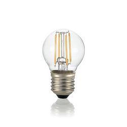 Confezione da 10 Lampadine Led Ideal Lux CLASSIC E27 4W SFERA TRASP 3000K DIMMER 188942