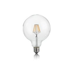 Confezione da 10 Lampadine Led Ideal Lux CLASSIC E27 8W GLOBO D95 TRASP 3000K DIMMER 188966