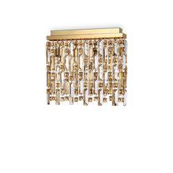 Plafoniera Ideal Lux Elisir Pl4 Ottone 200088