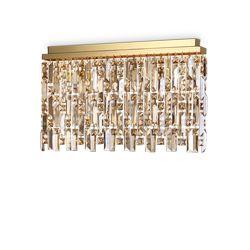 Plafoniera Ideal Lux Elisir Pl6 Ottone 200095
