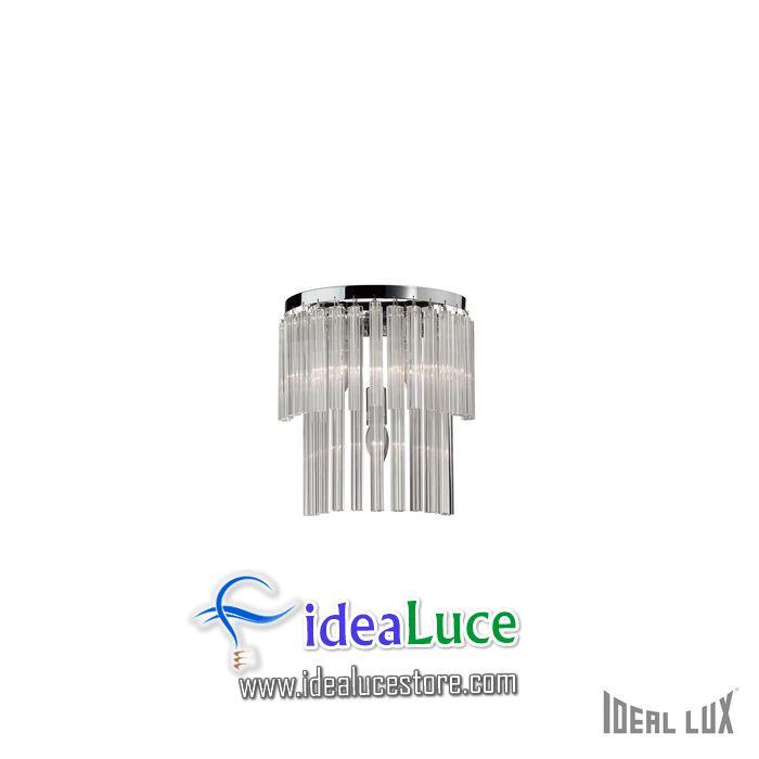 Lampada da parete Applique Ideal Lux Elegant AP3 027975