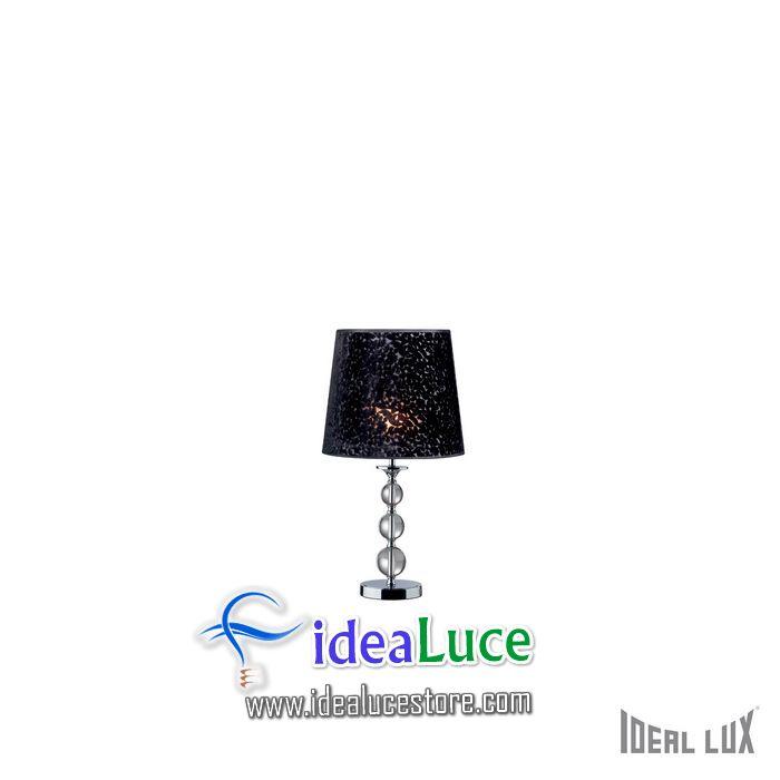 Lampada da tavolo Ideal Lux Step TL1 BIG NERO 032337