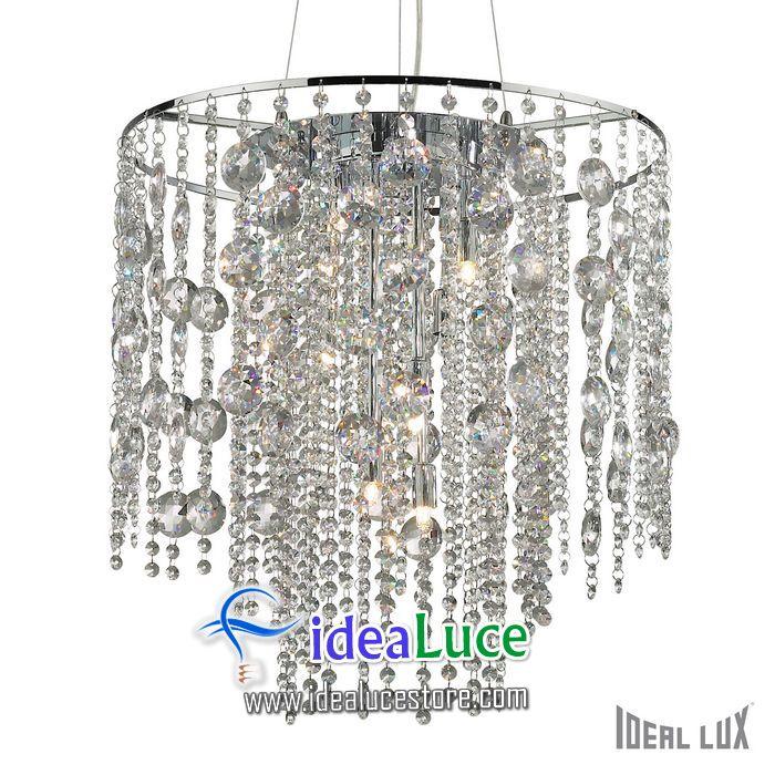 lampadario sospensione ideal lux evasione sp10 044767
