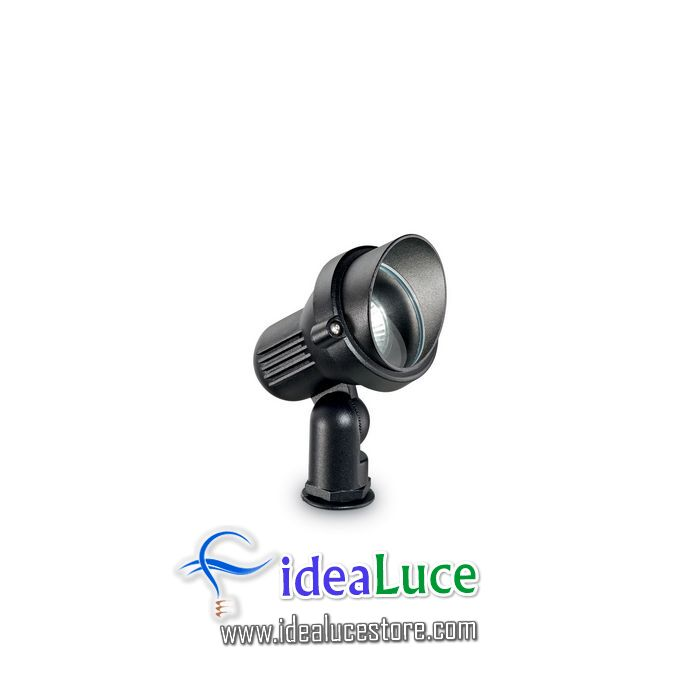 Lampada da terra Ideal Lux Terra PT1 SMALL NERO 046211