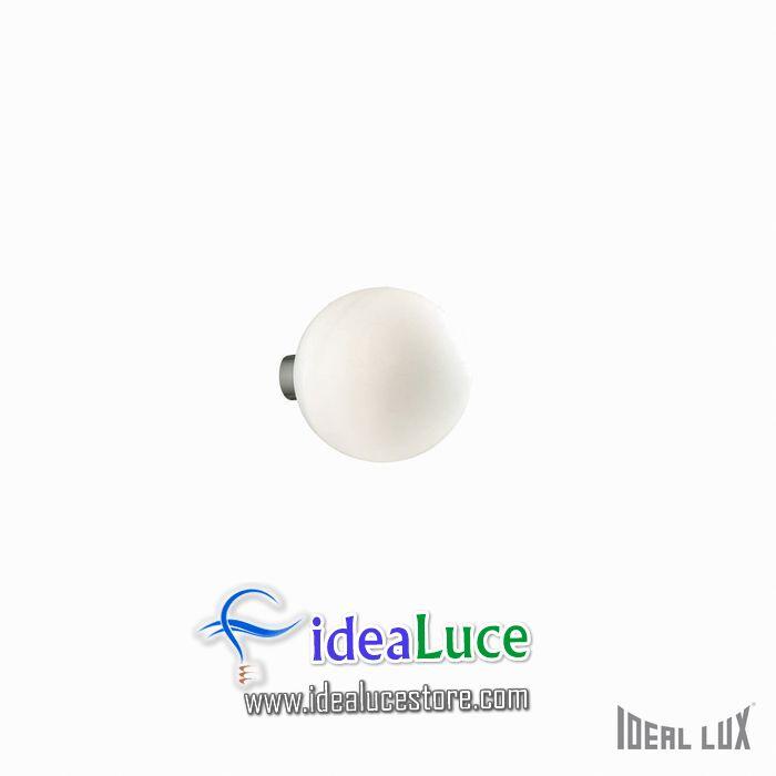 Lampada da parete Applique Ideal Lux Mapa BIANCO AP1 D15 059808