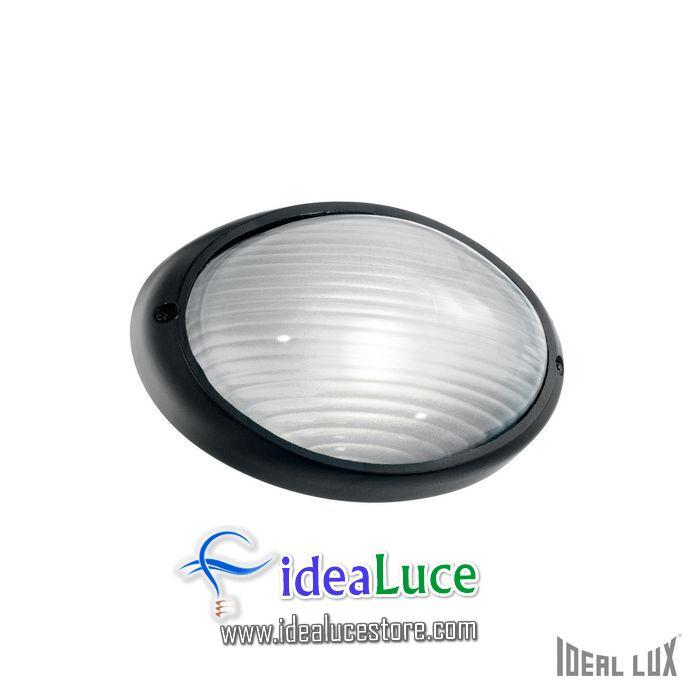 Lampada da esterno Applique Ideal Lux Mike AP1 SMALL NERO 061771