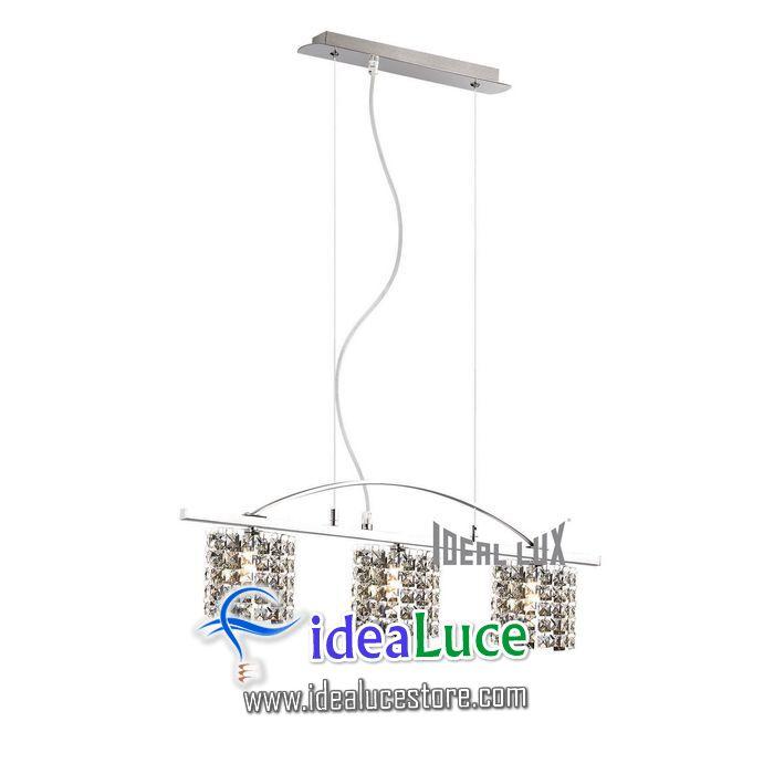 Lampadario sospensione Ideal Lux Spirit SP3 068381