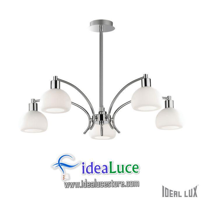 Lampadario sospensione Ideal Lux Tokyo SP5 068459