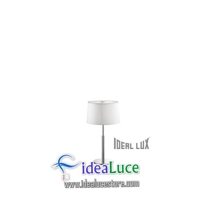 Lampada da tavolo Ideal Lux Hilton TL1 075525