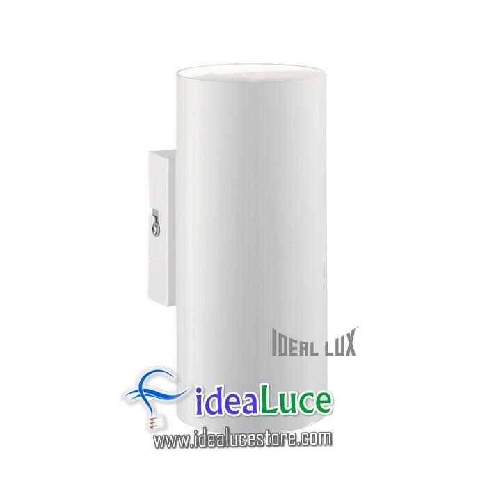 Lampada da parete Applique Ideal Lux Hot AP2 BIANCO 096018