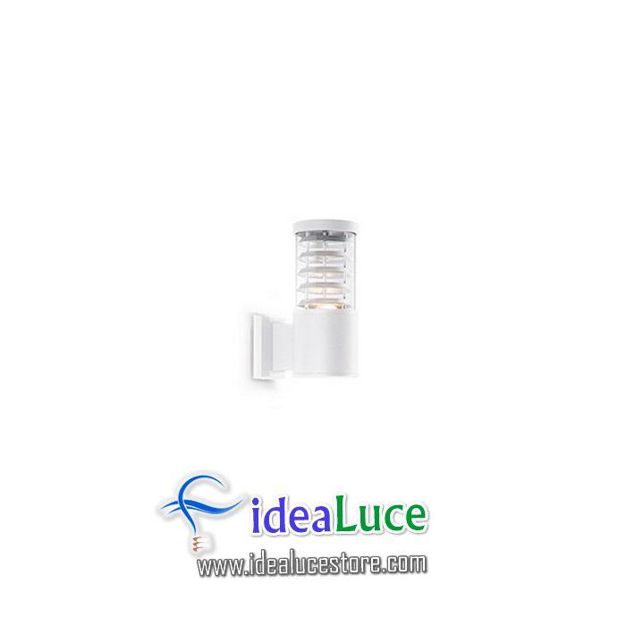 Lampada da esterno Applique Ideal Lux Tronco AP1 BIANCO 118659