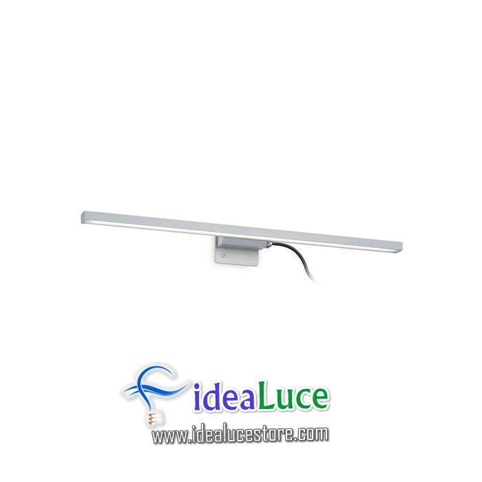 Lampada da parete Applique Ideal Lux Edgar AP49 ALLUMINIO 136585