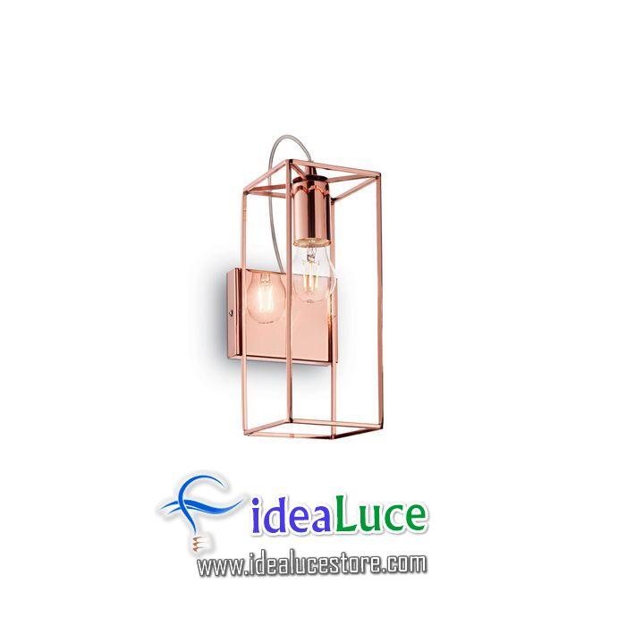 Lampada da parete Applique Ideal Lux Volt AP1 137117