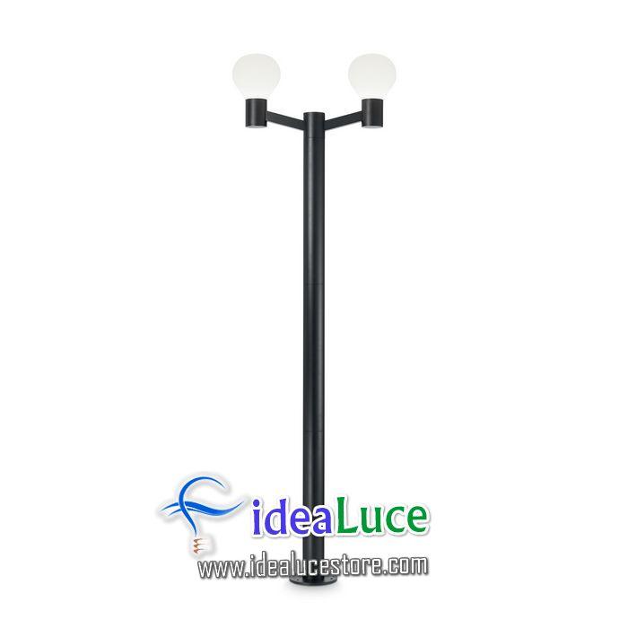 Lampada da terra Ideal Lux Clio PT2 NERO 147109