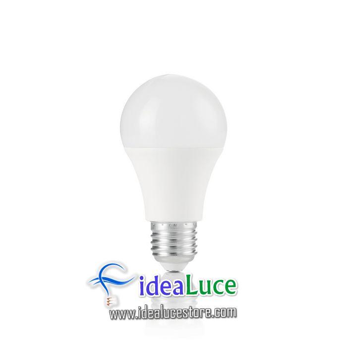 Confezione da 10 Lampadine Led Ideal Lux POWER E27 10W GOCCIA 3000K 151762