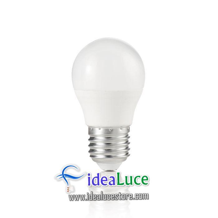 Confezione da 10 Lampadine Led Ideal Lux POWER E27 7W SFERA 4000K ...
