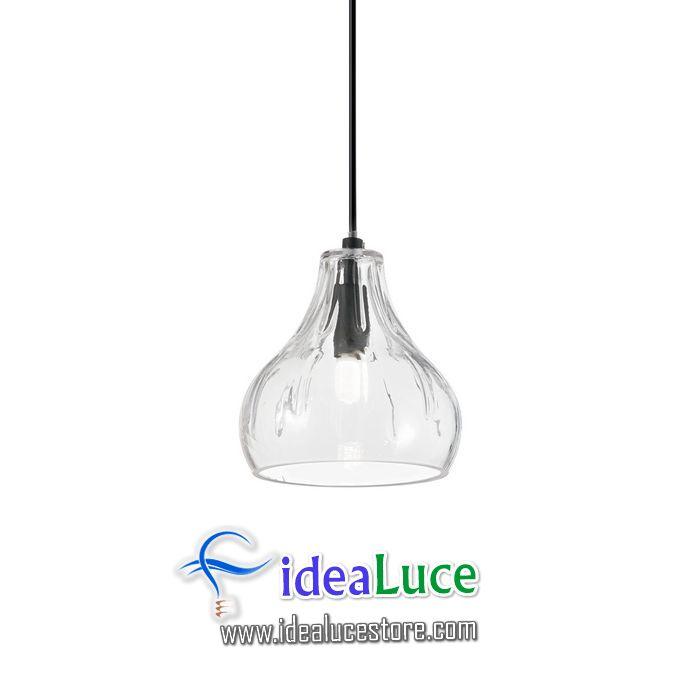 Lampadario sospensione Ideal Lux Cognac-4 SP1 167022