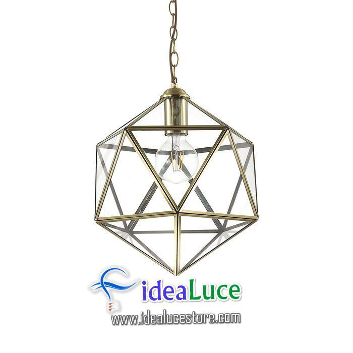 Lampadario sospensione Ideal Lux Deca SP1 BIG 168869