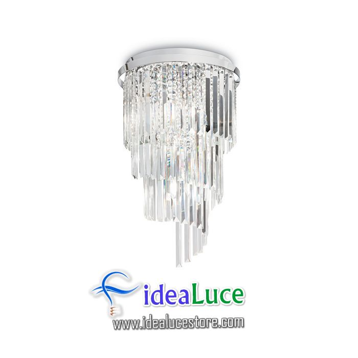 Plafoniera Ideal Lux Carlton PL8 168920