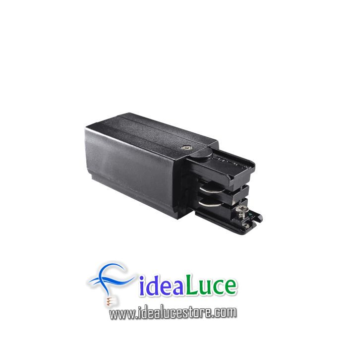 Link Trimless Main Connector Left Black Ideal Lux 169576