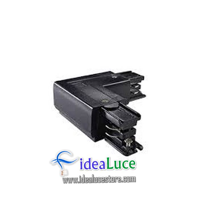 Link Trimless L-connector Right Black Ideal Lux 169729
