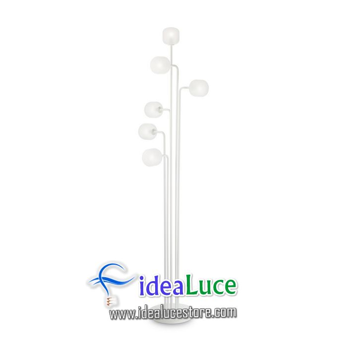 Lampada da terra Ideal Lux Mallow PT6 174426