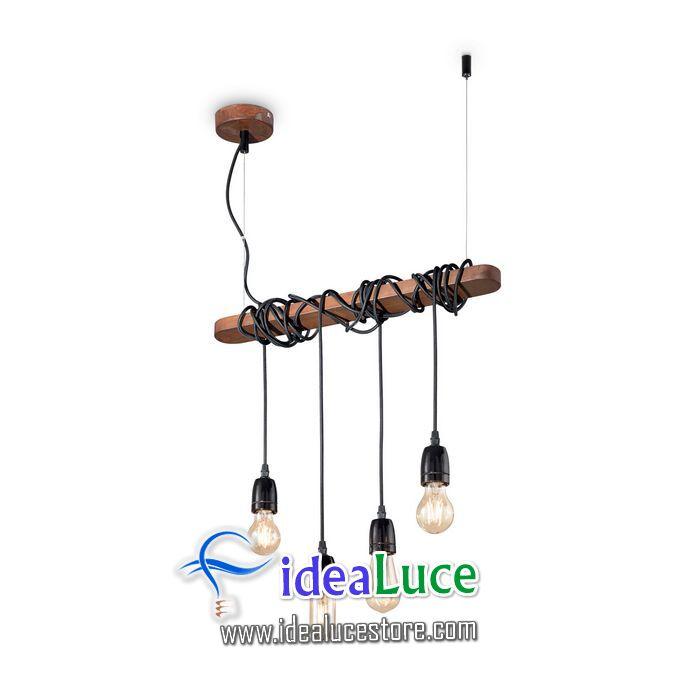 Lampadario sospensione Ideal Lux Electric SP4 176352