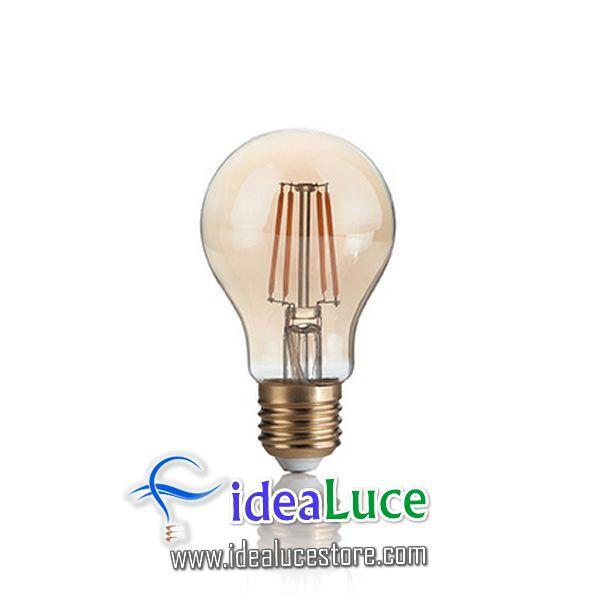Confezione da 10 Lampadine Led Ideal Lux VINTAGE E27 4W PEARL 2200K 201290