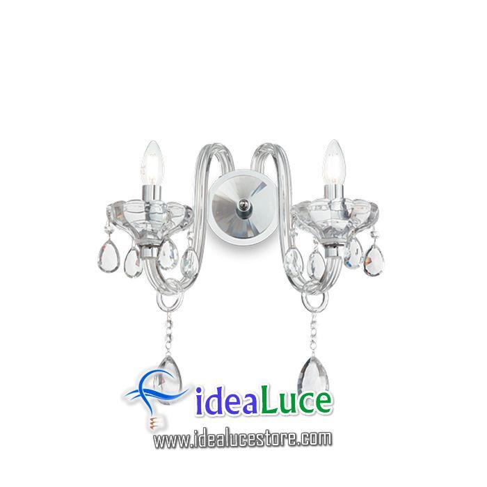 Lampada da parete Applique Ideal Lux Continental Ap2 207476