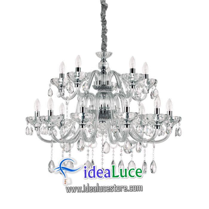 Lampadario sospensione Ideal Lux Continental Sp15 207490