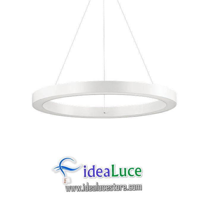 Lampadario sospensione Ideal Lux Oracle Sp1 D60 Bianco 211398