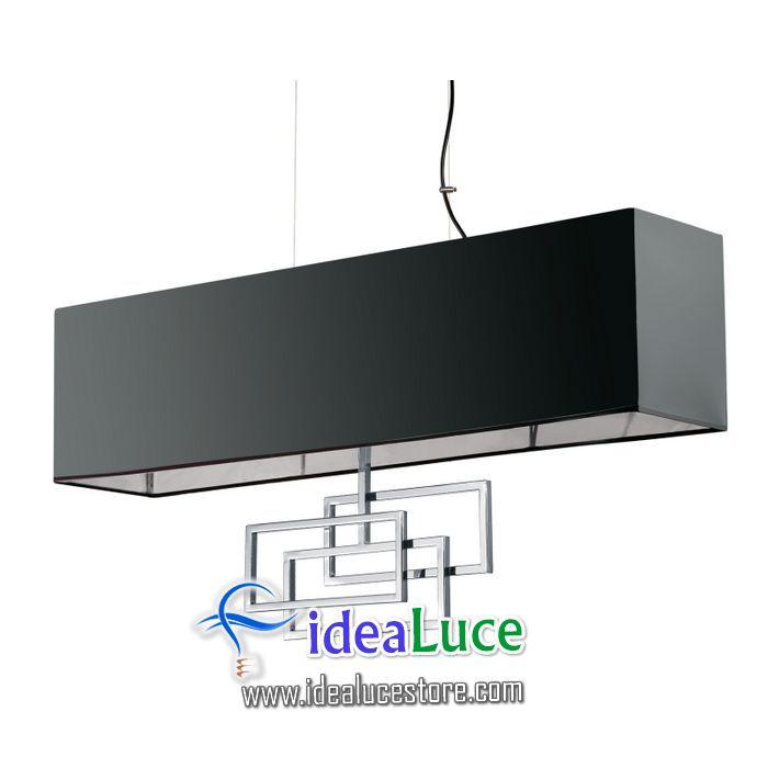 Lampadario sospensione Ideal Lux Luxury Sp6 Cromo 219721