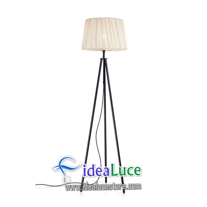 Lampada da terra Ideal Lux Fit Pt1 Nero 220963