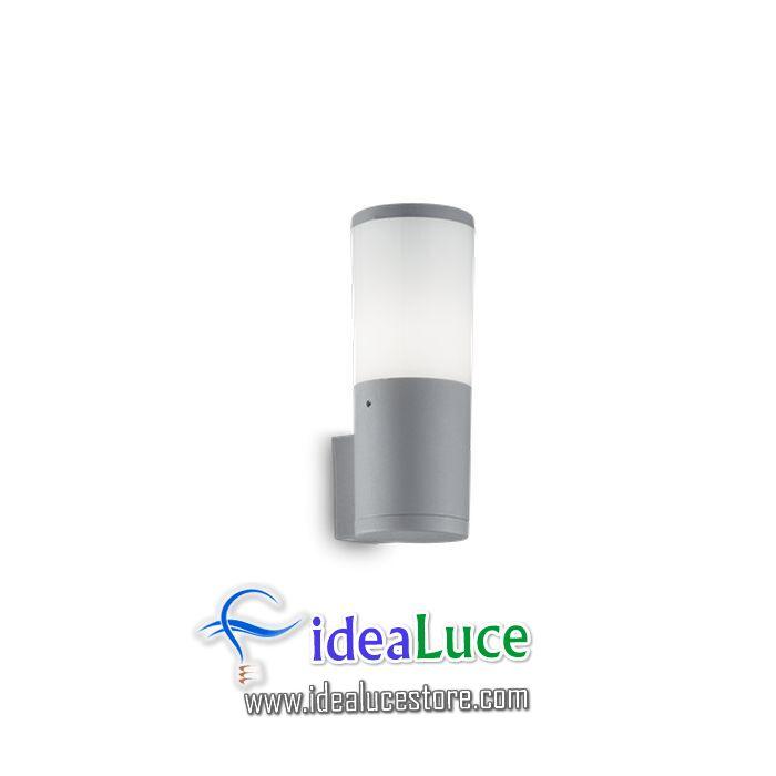 Lampada da parete Applique Ideal Lux Amelia Ap1 Grigio 221953