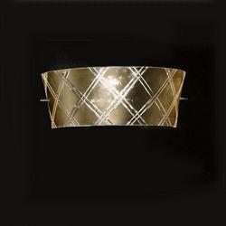 Lampada da Parete Applique Metal Lux Corallo Oro 196.111.51