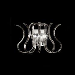 Lampada da Parete Applique Metal Lux Wave 234.102