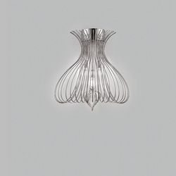 Lampada da Parete Applique Metal Lux Silhouette 247.103