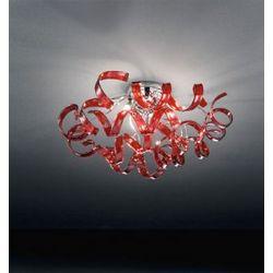 Plafoniera Metal Lux Astro Rossa 206.330.04