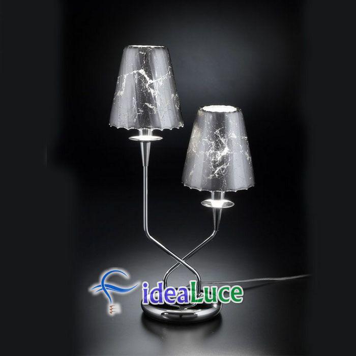 Lampada da Tavolo Metal Lux Opera 180.212.15