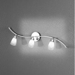 Lampada da Parete Applique Top Light Feeling Net 1011/F3 HT