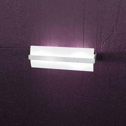 Lampada da Parete Top Light Wood Foglia Argento 1019/A40 FA