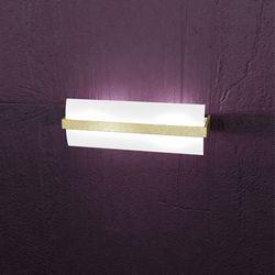 Lampada da Parete Top Light Wood Foglia Oro 1019/A40 FO