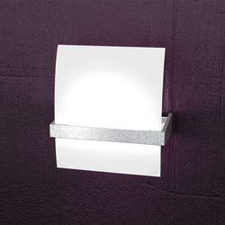 Lampada da Parete Top Light Wood Foglia Argento 1019/AM FA