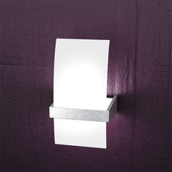 Lampada da Parete Top Light Wood Foglia Argento 1019/AP FA